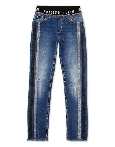 Denim Trousers String