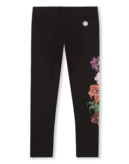 Jogging Leggings Crystal Flowers