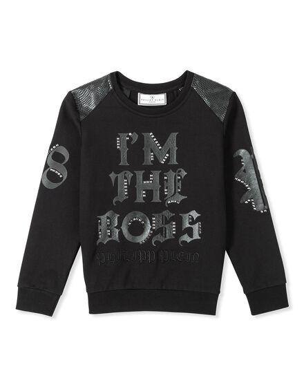 Sweatshirt LS Makes me smile