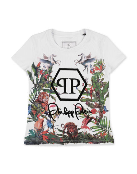 T-shirt Round Neck SS Jungle