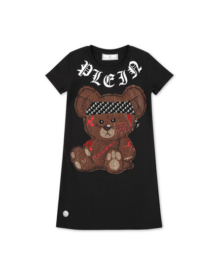 T-Shirt Short Dresses Teddy Bear