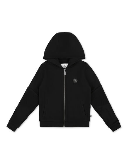 Hoodie Sweatjacket Hexagon