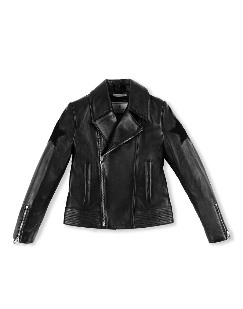Leather Biker Signature