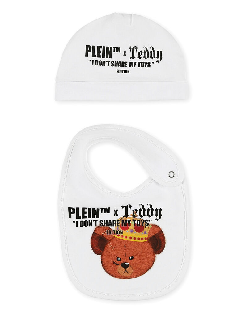 Body/Bonnet/Bib Teddy Bear