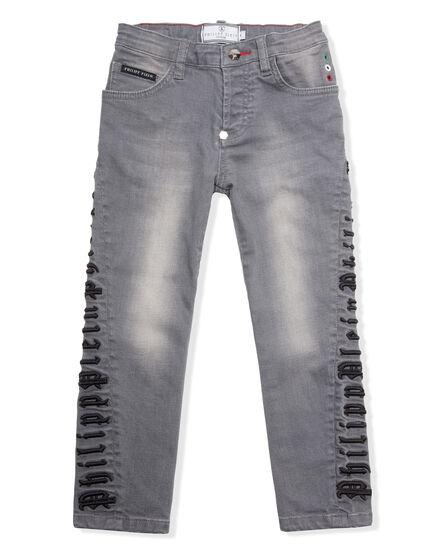 Denim Trousers Stripe