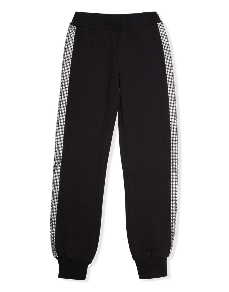 "Jogging Trousers ""Band in Crystal"""