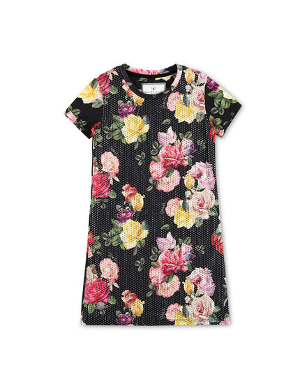 Short Dress Flowers