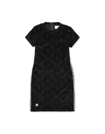 shirt Short Dresses Monogram