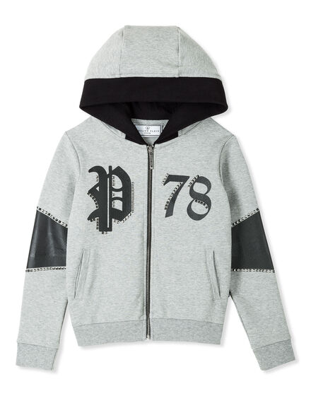 Hoodie Sweatjacket Dark Shadow