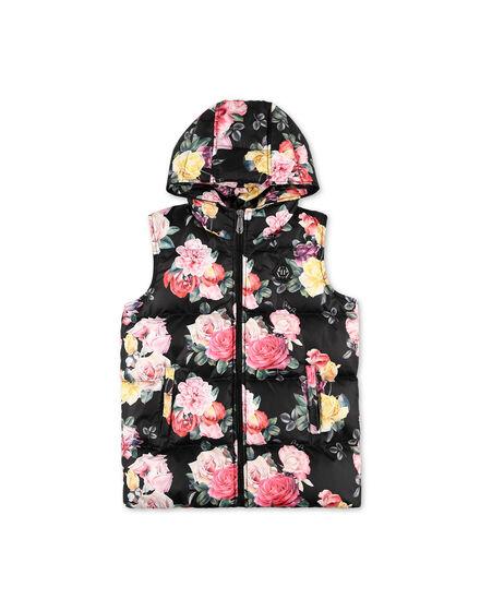 Short Vest Flowers