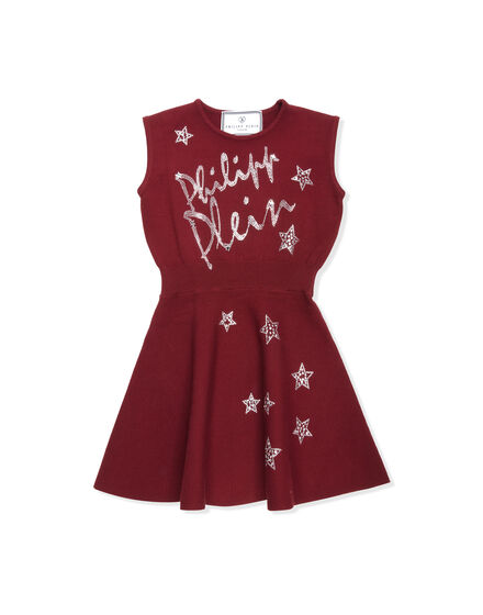 Knit Day Dress Plein Sign