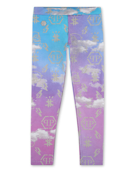 lJogging Leggings Clouds