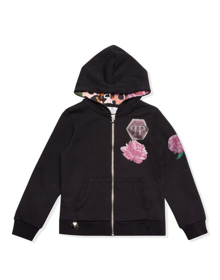 Hoodie Sweatjacket Love Miss Plein