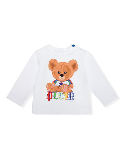 T-shirt Round Neck LS Teddy Bear