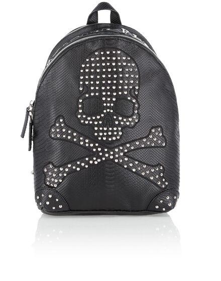 Backpack Black Skull
