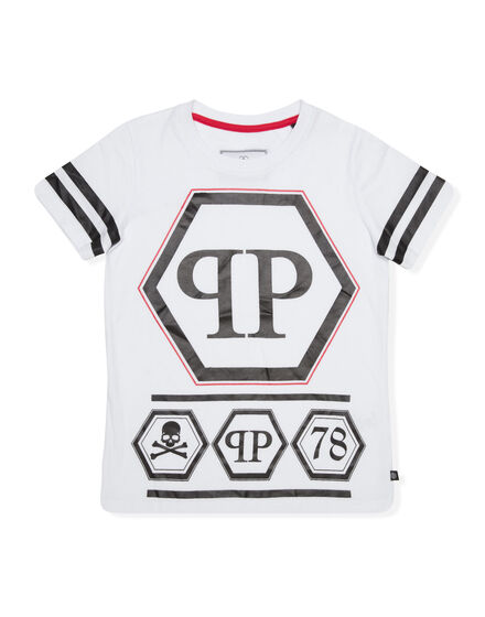 T-shirt Round Neck SS PP Logo