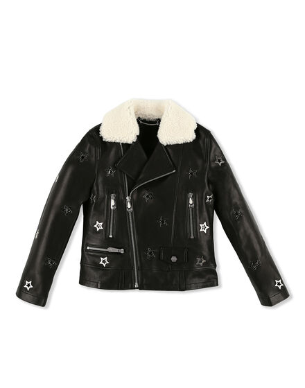 Leather Biker Space Plein