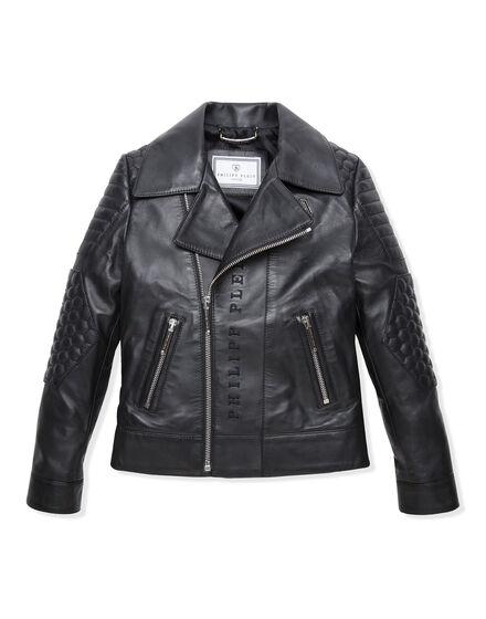 Leather Biker Alton