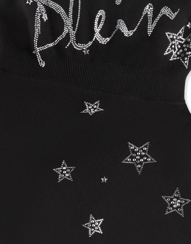 "Knit Day Dress ""Plein Sign"""
