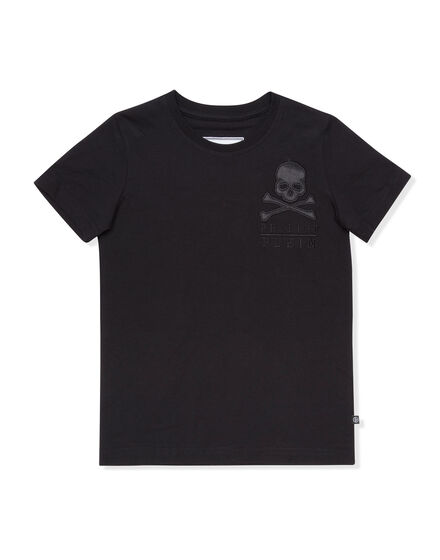 T-shirt Round Neck SS Simple Skull