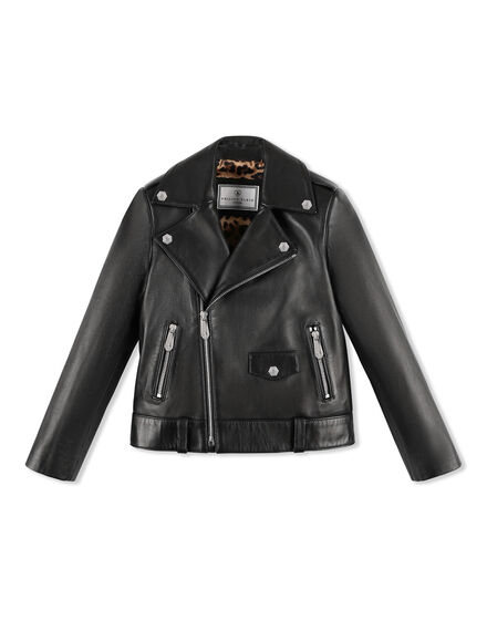 Leather Biker Istitutional