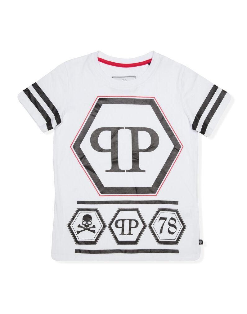 "T-shirt Round Neck SS ""PP Logo"""