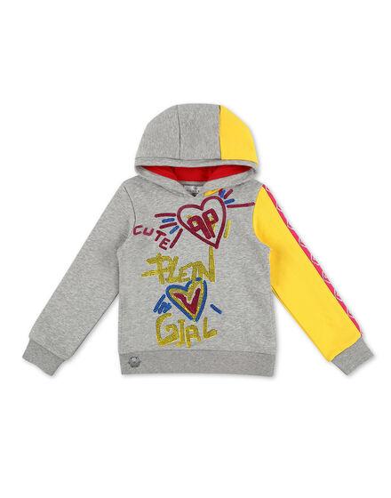 Hoodie sweatshirt Love Plein
