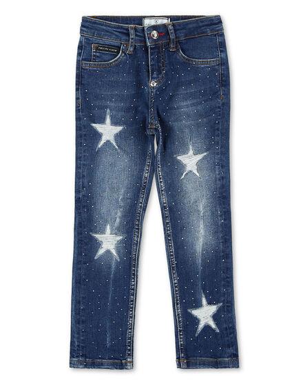 Denim Trousers Stars