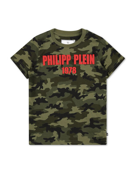 T-shirt Round Neck SS Camouflage