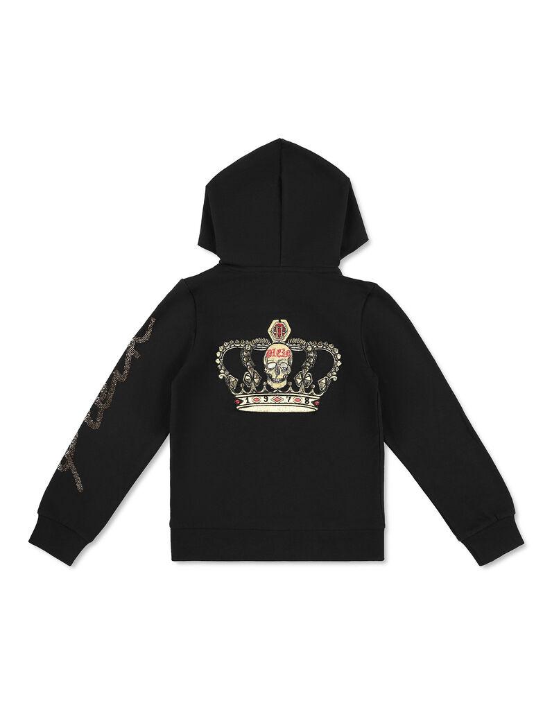Hoodie Sweatjacket King Plein