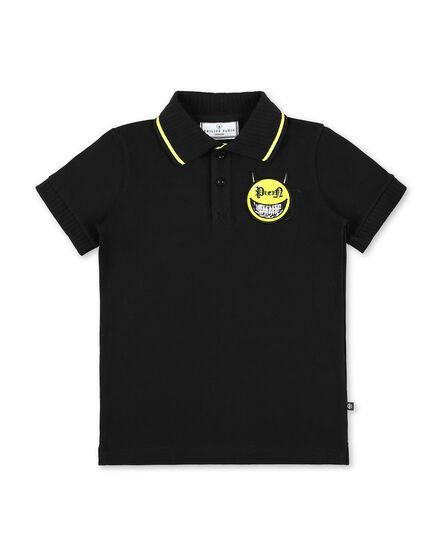 Polo shirt SS Evil Smile