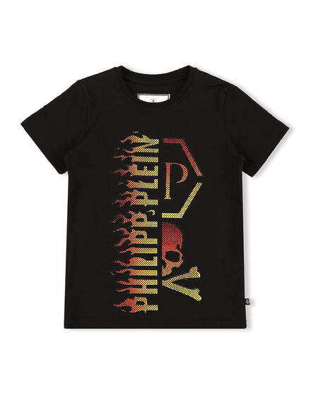 T-shirt Round Neck SS Flame
