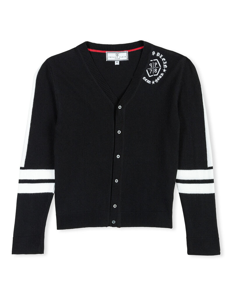 "Cardigan Short ""Noble Circle"""