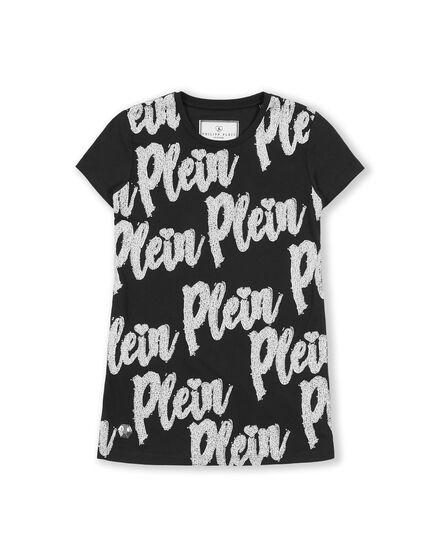 T-Shirt Short Dresses Love Plein