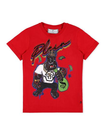 T-shirt Round Neck SS Dollar