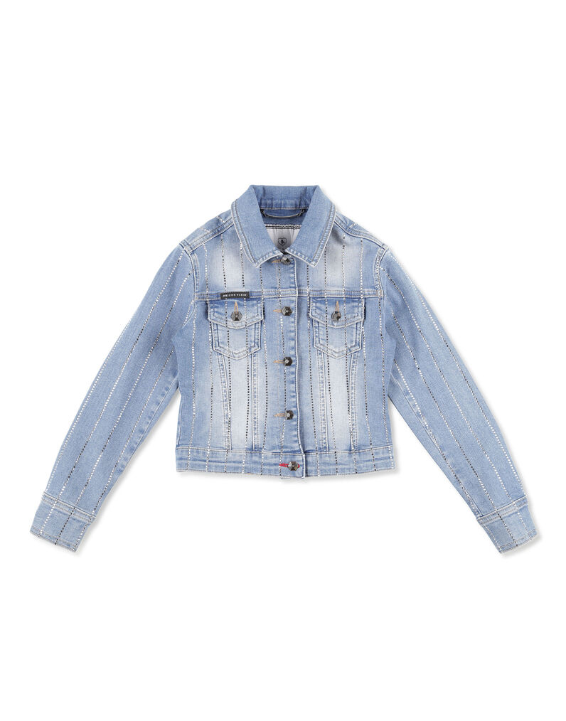 Denim Jacket Crystal