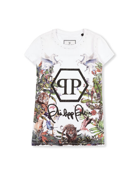 T-Shirt Short Dresses Jungle
