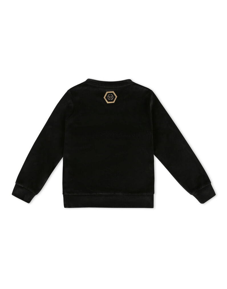Sweatshirt LS Skull and Plein