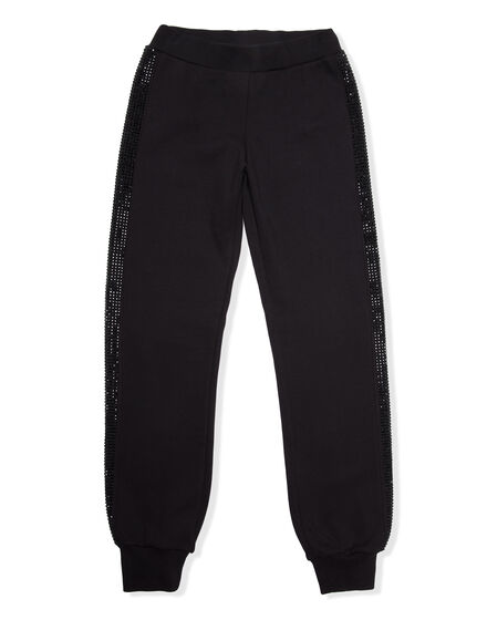 Jogging Trousers Band in Crystal