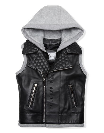 Leather Vest Short Good Guys