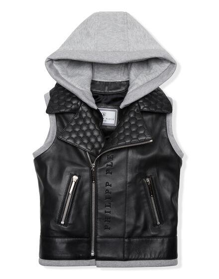 Leather Vest Short Good Guys