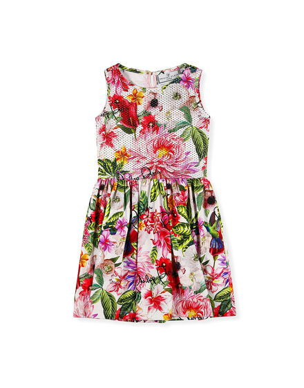 Short Dress Flowers