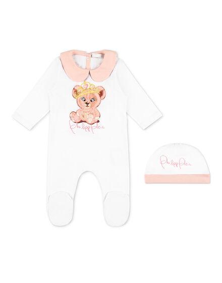 Body/Bonnet Teddy Bear
