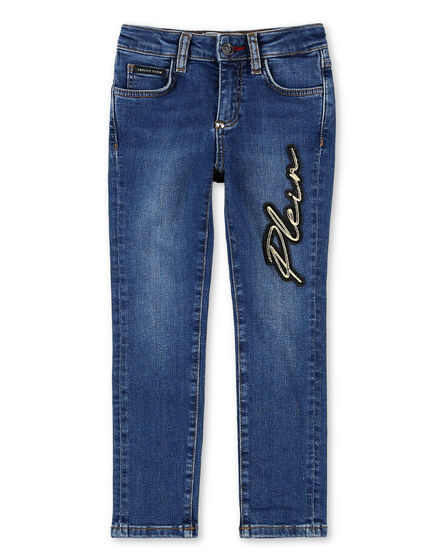 Denim Trousers slim fit Signature